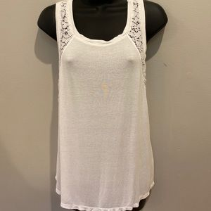 White tank top blouse